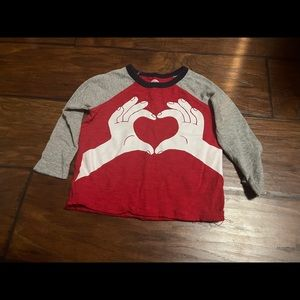 Old Navy Valentine's Day shirt size 12-18mo